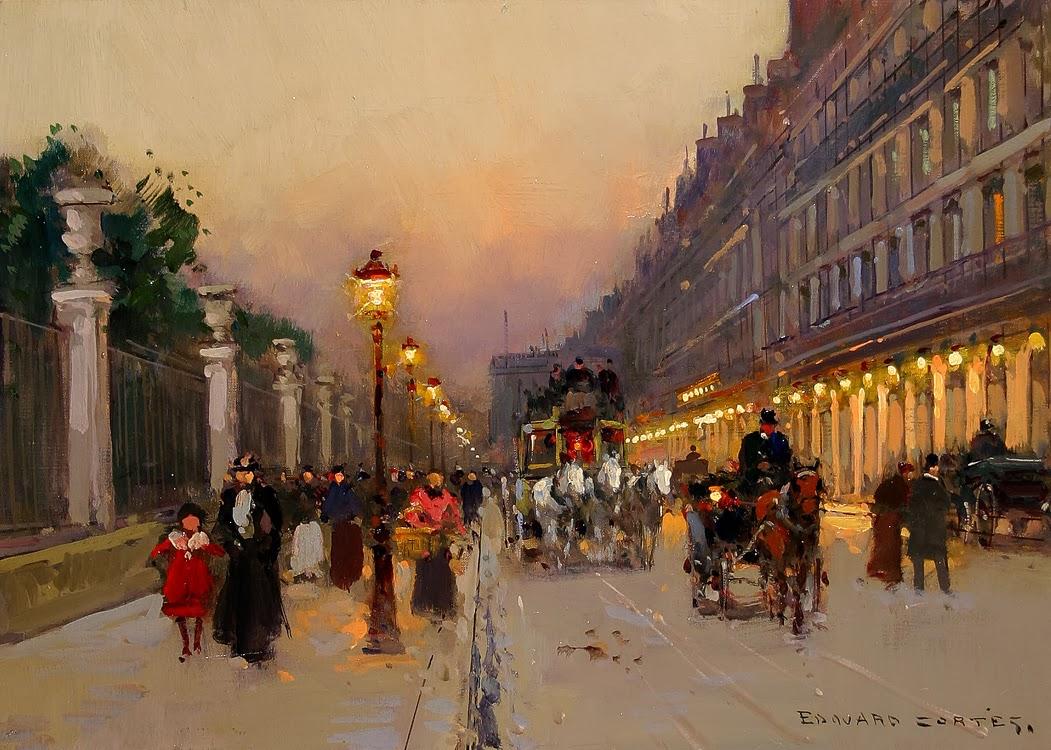 Rompedas le poete parisien de la peinture - Salon de the rue de rivoli ...
