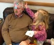 funny pictures: funny face granddad
