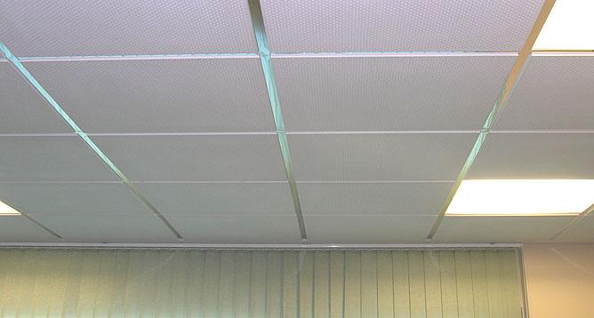 Catalana de techos techos registrables for Techo desmontable escayola