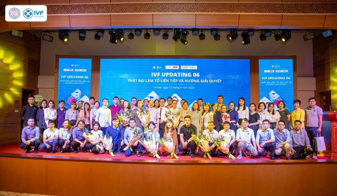 Hamesco tài trợ Hội thảo khoa học của Hội Hỗ trợ sinh sản Hà Nội về Thụ tinh trong ống nghiệm (IVF)