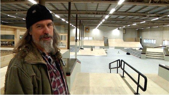 Openeing van Skatepark Real X in Apeldoorn. Oude Zwitsal fabrieken.