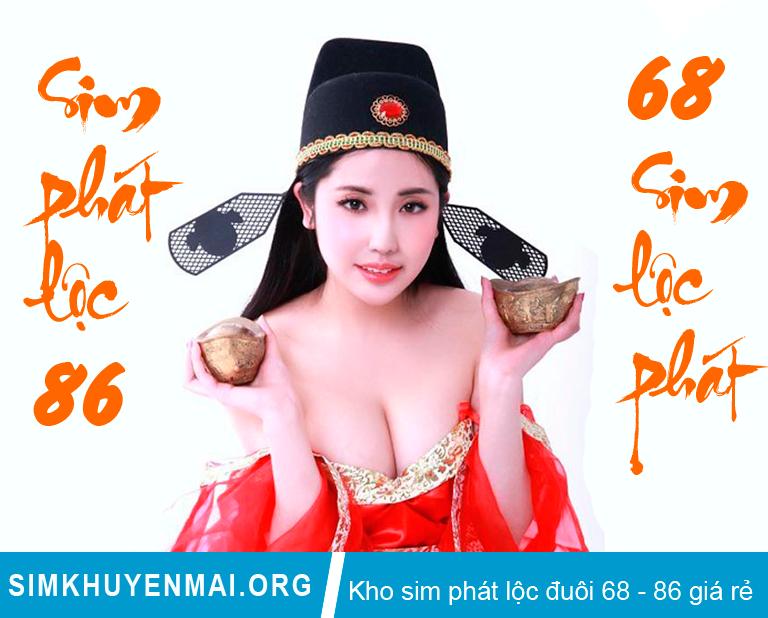 Sim Lộc phát 68, Sim Phát Lộc 86, Sim số đẹp Lộc Phát giá rẻ