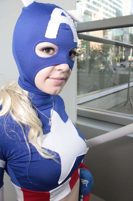 Las chicas de la Comic Con 2012