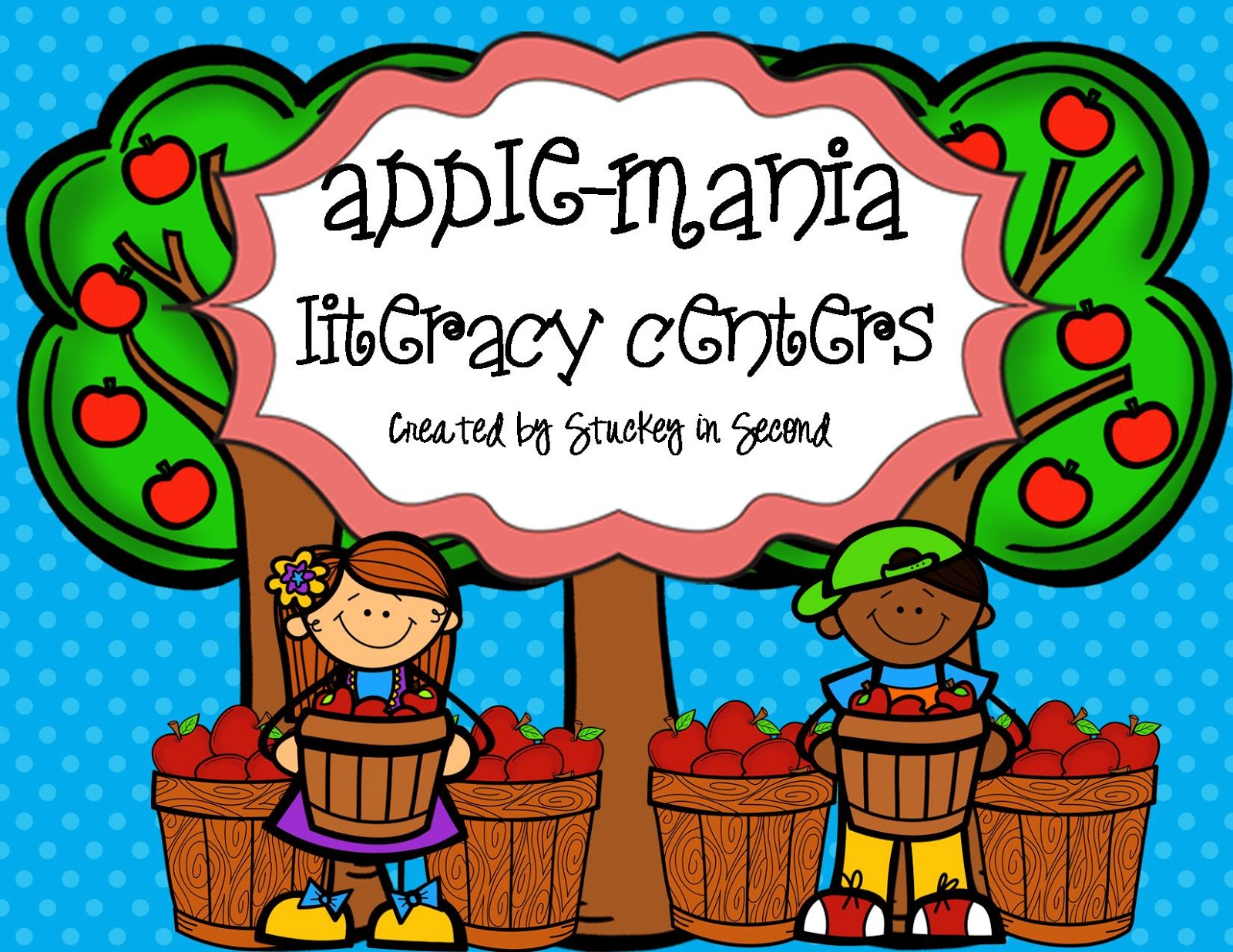 http://www.teacherspayteachers.com/Product/Apple-Mania-Literacy-Centers-6-Centers-855574