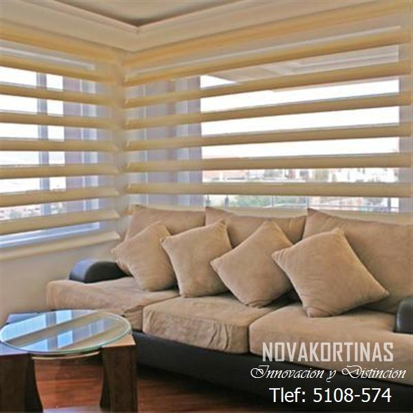 cortina ares salacomedor dormitorio color cafe ivore beige