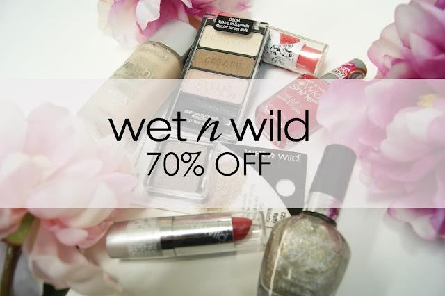 Wet 'N Wild Sale!