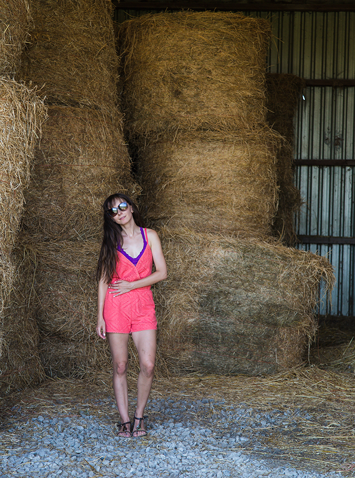 Coral-Romper-hay-barn
