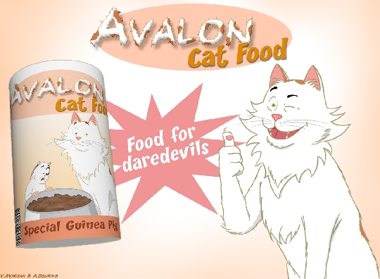 Gourmet Cat Food