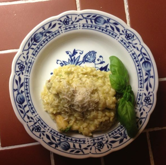 Spargelrisotto...