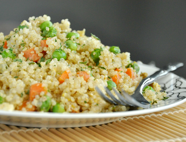 Veggie Quinoa Fried Rice