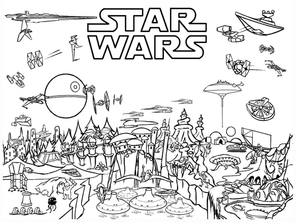 Free Printable Star Wars Coloring