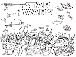 Printable Coloring Pages Star Wars Force Awakens