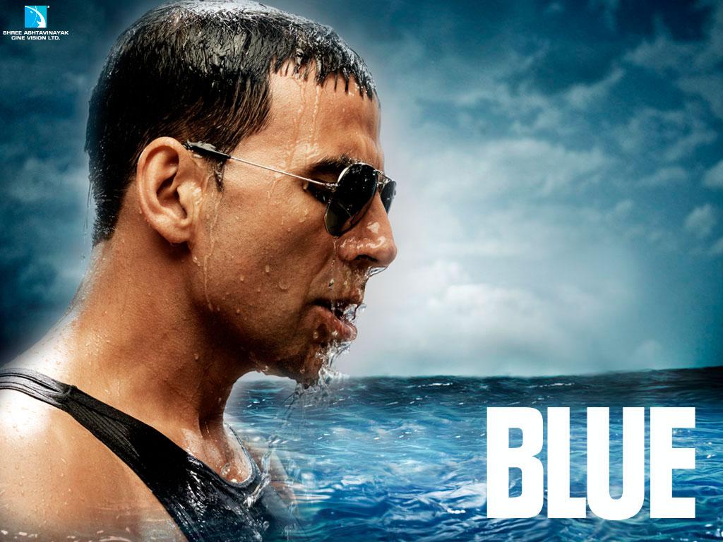 Akshay Kumar In Blue Movie Hot Pics Poster Wallpaper