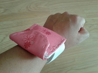 ipod sports armband DIY, easy, pattern