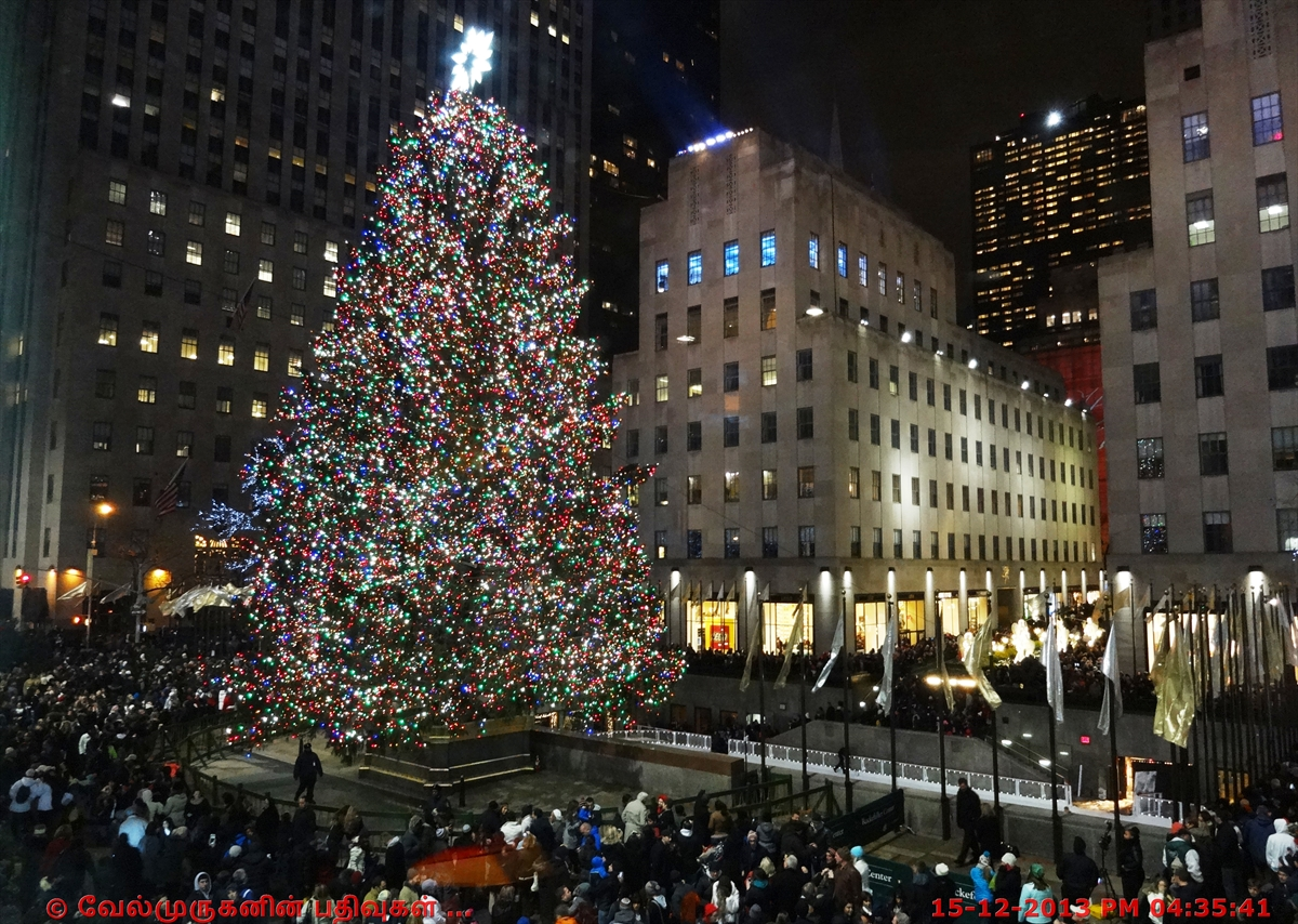Nbc Rockefeller Center Christmas Tree Lighting