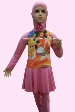 Baju renang anak muslim, perempuan, laki, bayi, lucu, k