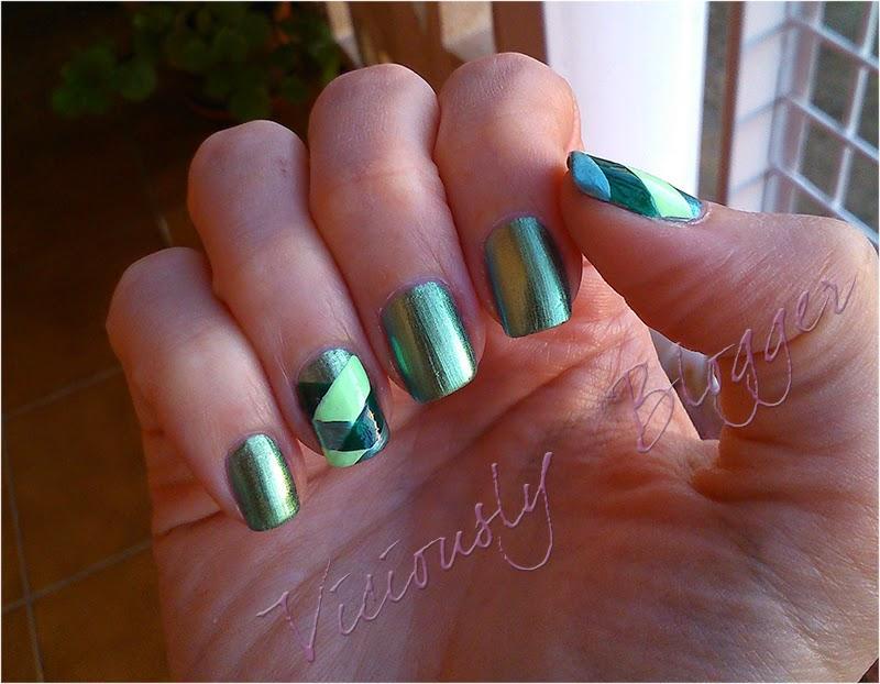 Reto 31 manicuras 21 inspirada en un color
