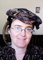 Cynthia Parkhill in Tudor flat cap