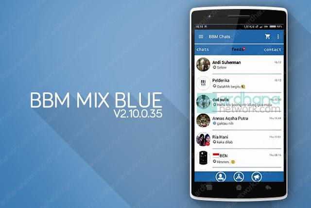 BBM Mix Blue V2.10.0.35