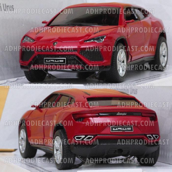Miniatur Lamborghini Urus (Red-32K)