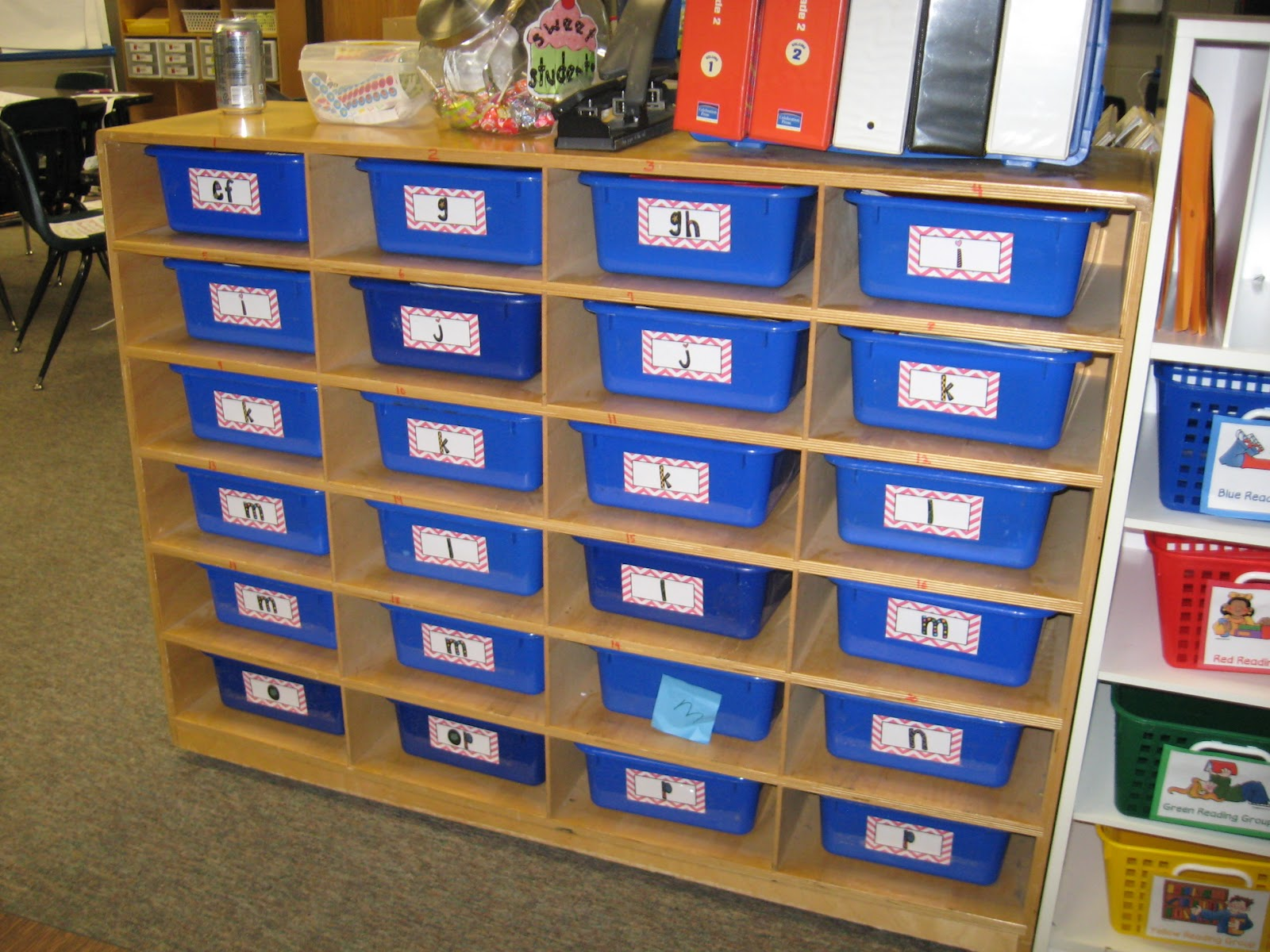 Throwback Thursday: Organizing Guided Reading Books (FREEBIE ...
