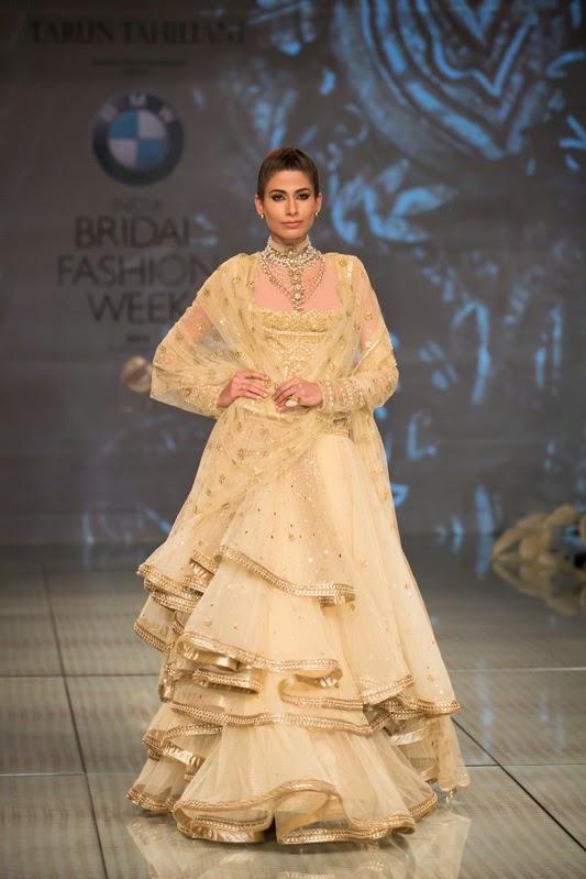 Tarun Tahiliani Bridal Collection at IBFW 2014