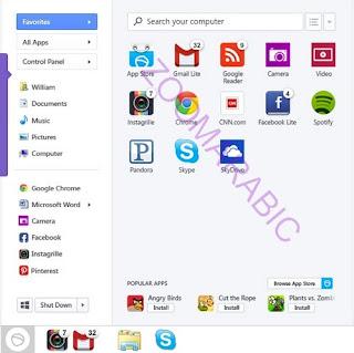 تحميل برنامج Pokki لاظهار قائمه ستارت في ويندوز 8 الجديد