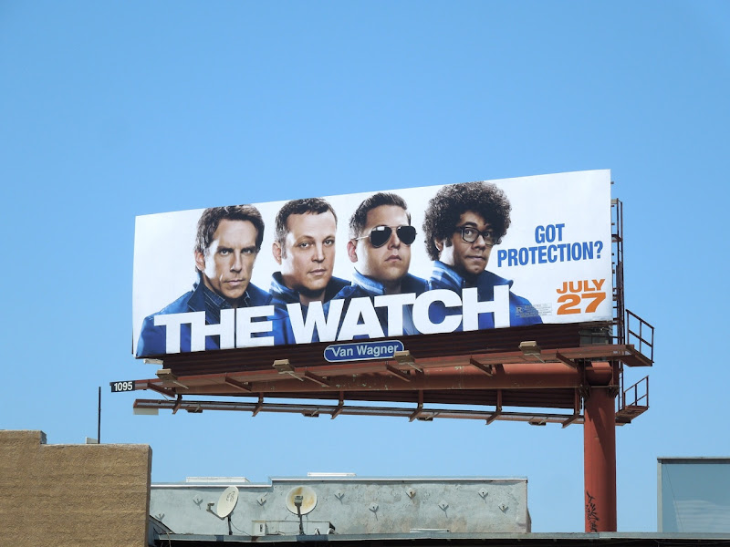 Watch movie billboard