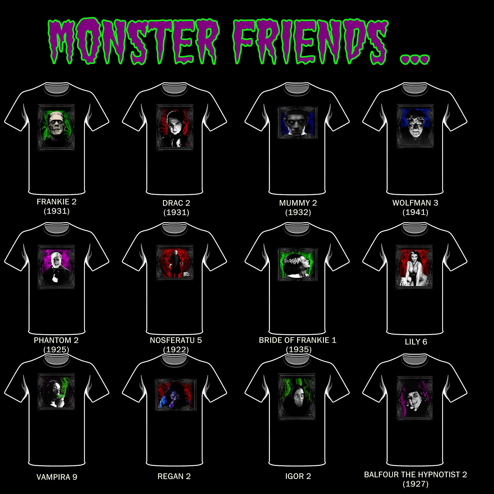 Monster Friends 1