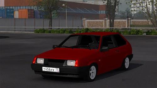 ETS2 Carro - Vaz 2108 V.1.0 Para V.1.25.X By: Fenix