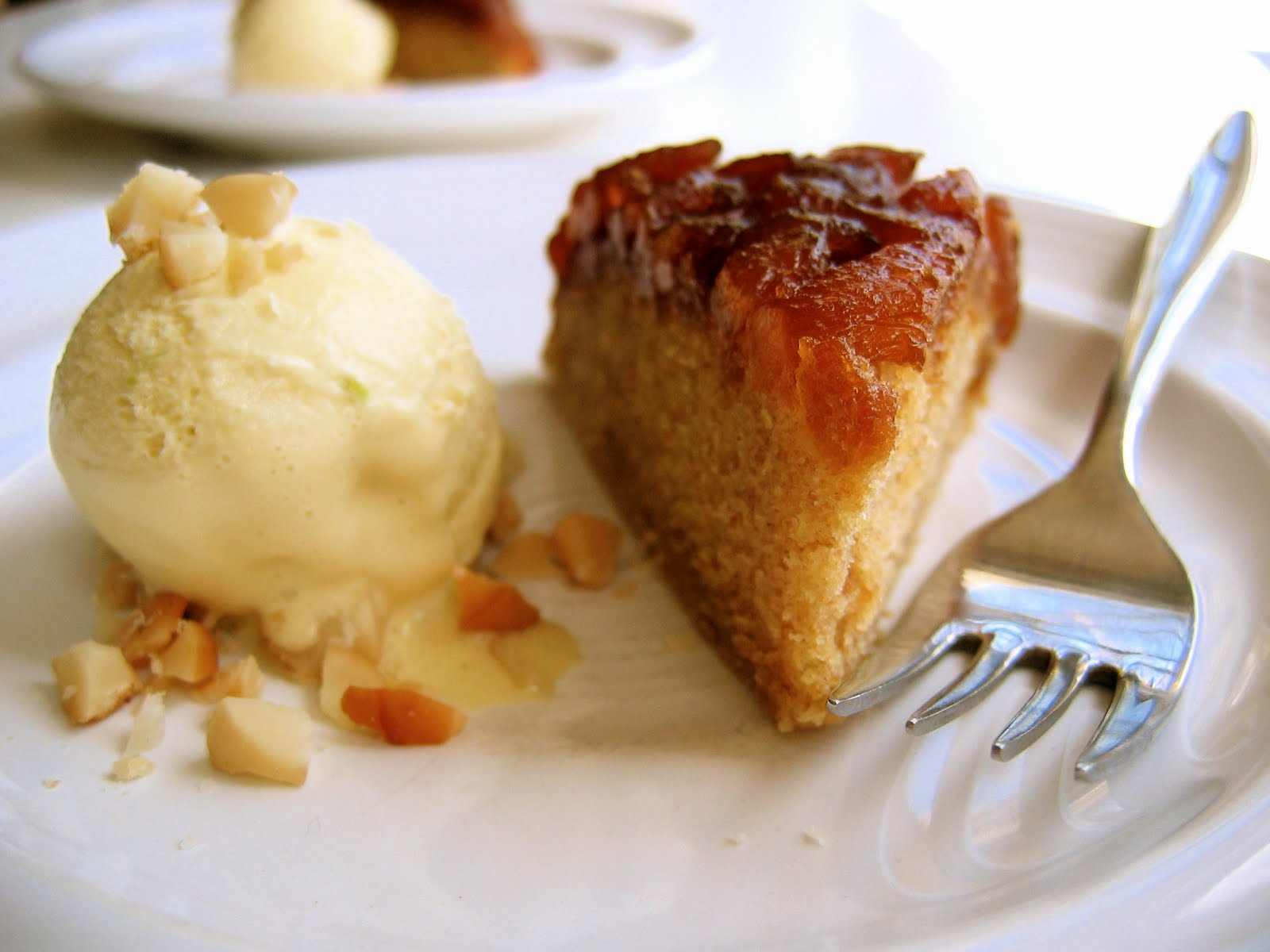 ... : Ginger Pineapple Upside-Down Cake, Coconut-Lemongrass Ice Cream