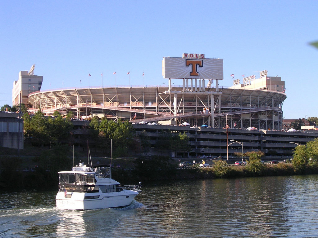 HOME OF SPORTS: Neyland Stadium