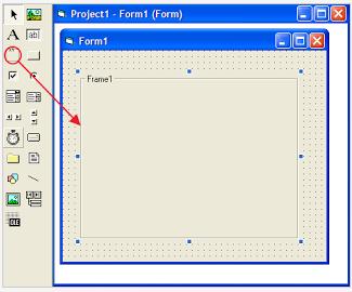 Cara Menggunakan Frame pada VB 6