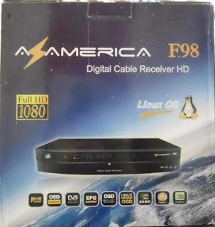 portal Atualização azamerica F92 F98 Pronet N90 10/02