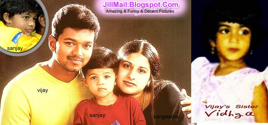 Actor Vijay Son And Daughter Photos Tamil actor vijay,his son
