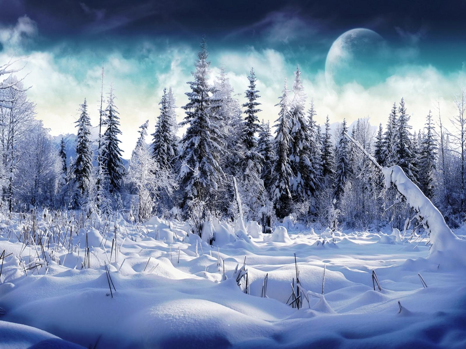 Mooie Sneeuw Achtergronden | Barbaras Bureaublad Achtergronden in HD