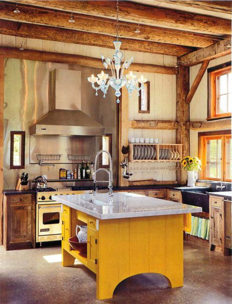 Barn kitchen ideas the kitchen design for Barn kitchen designs
