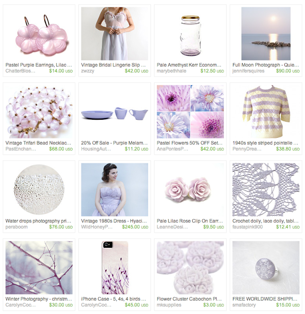 ice lilac accessories, clothes, and jewelry