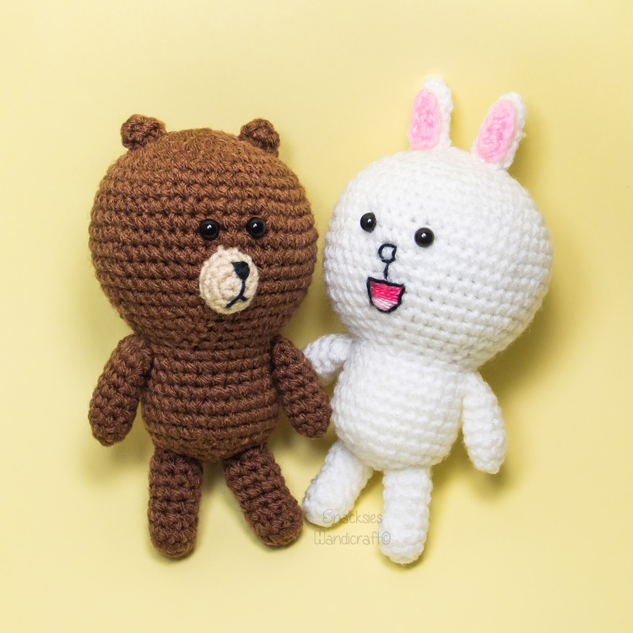 crocheted-line-cony-brown-amigurumi