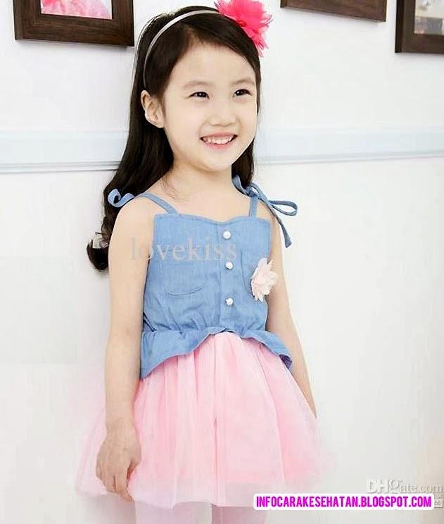 Gambar Model Baju Dress Anak Perempuan