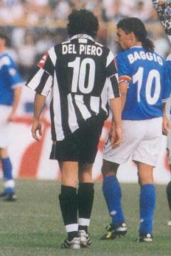 Del Piero & Baggio