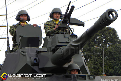 EE-9 Cascavel Ejército Colombia