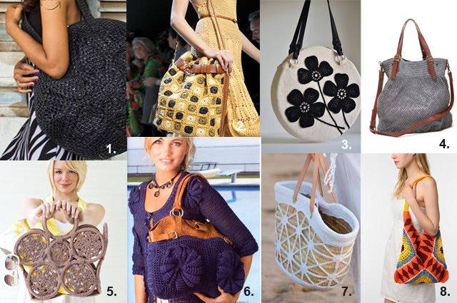 The New Crochet Weekly Inspiration10 Crochet Bags