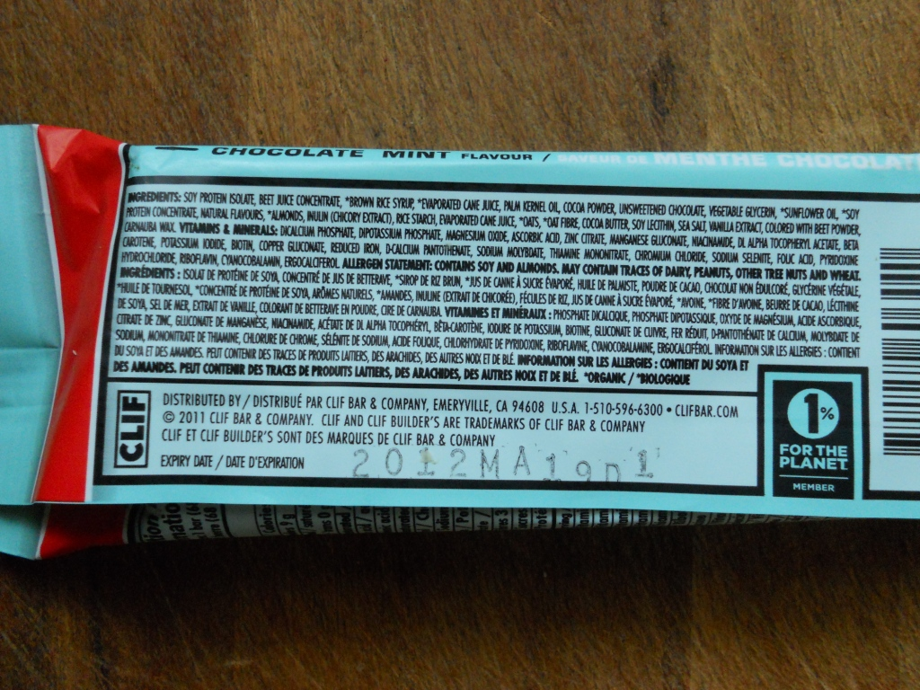 What Does Clif Builders Protein Bar Chocolate Mint Taste Like