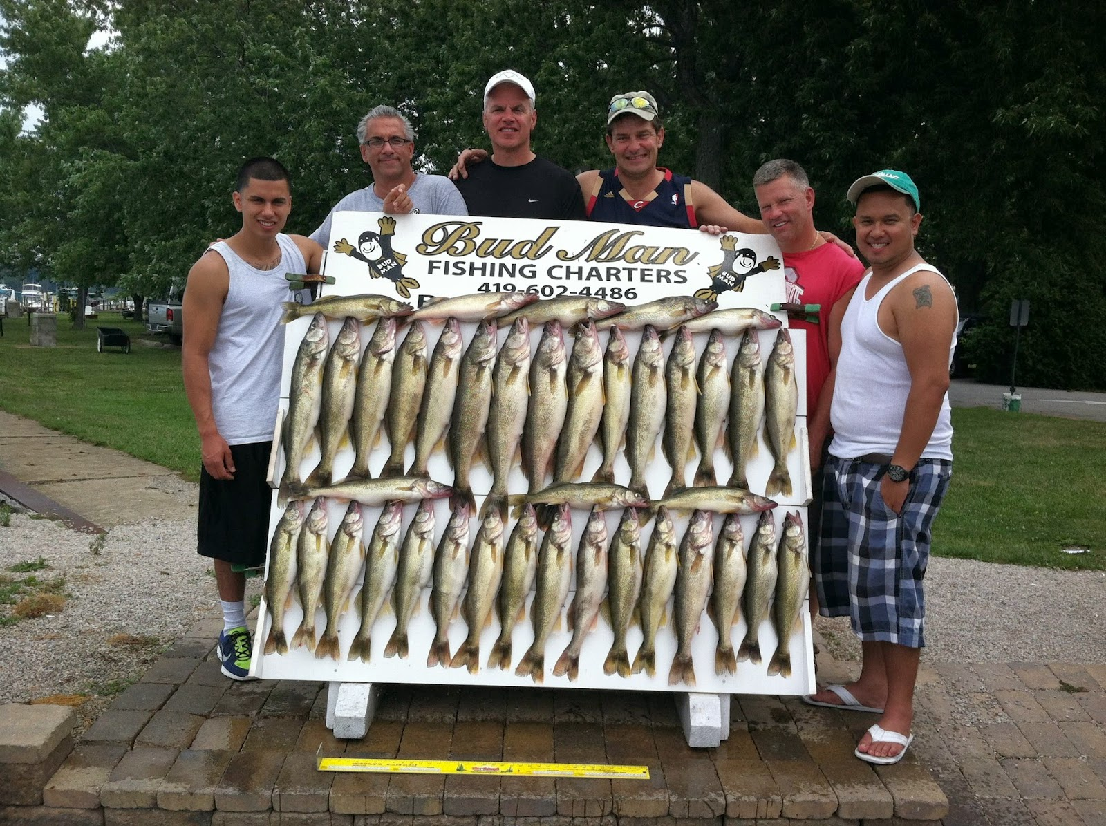 Lake erie walleye fishing reports south east of pelee and for Odnr fishing report