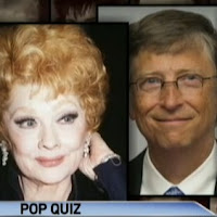 Lucille Ball and Bill Gates