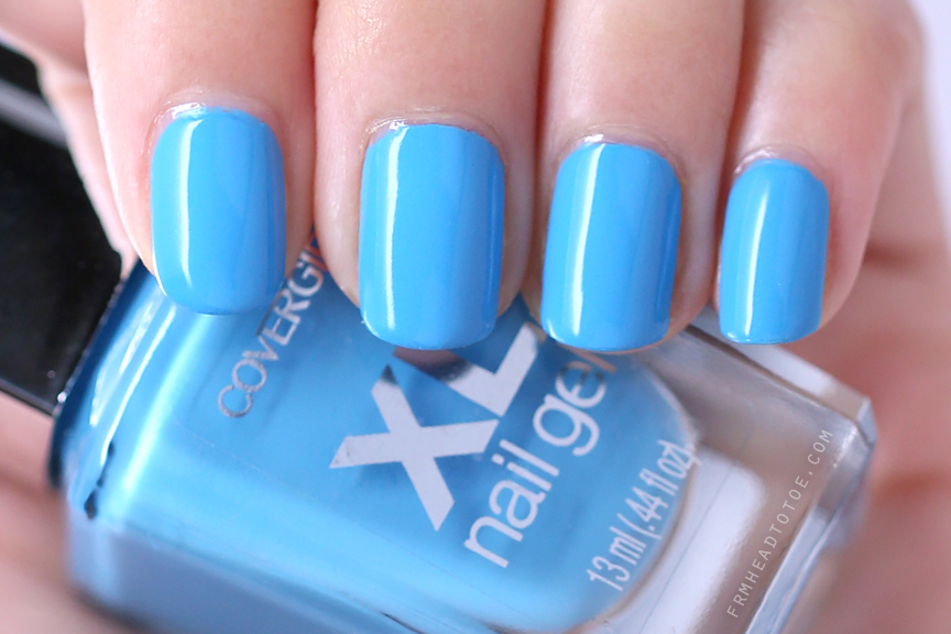 Manicure Monday: Covergirl Buxom Blue - From Head To Toe