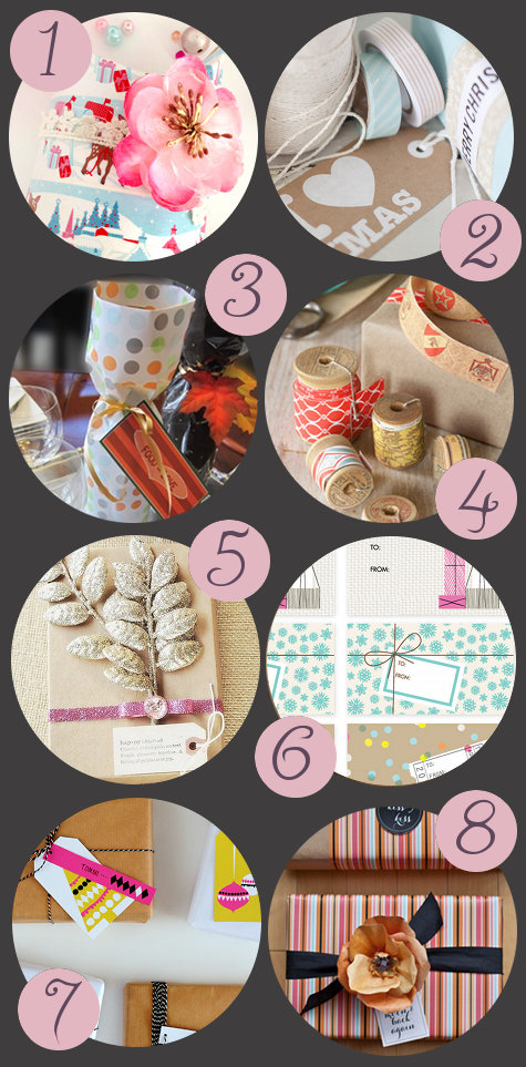 DIY Holiday Gift Wrap Ideas and Christmas Printables - Printable Gift Wrap and Gift Tags