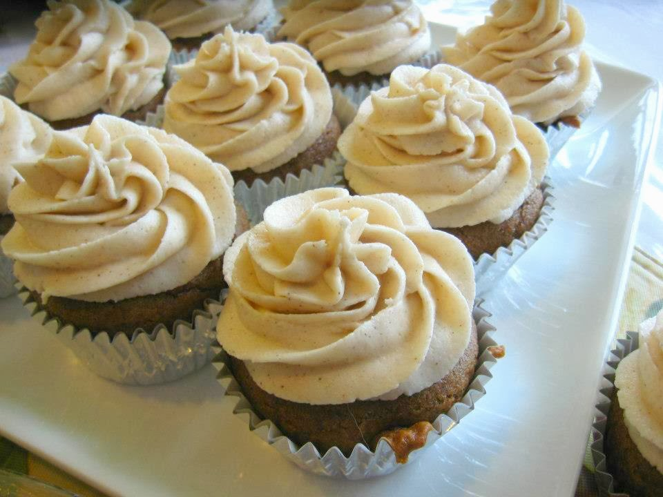 Carrie S. Forbes - Gingerlemongirl.com: Pumpkin Chai Latte Cupcakes ...