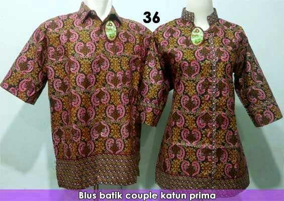 Blus-batik-couple-model-terbaru